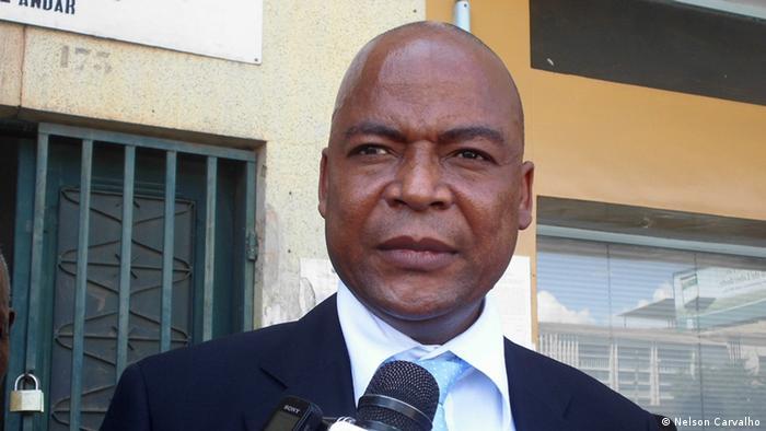 Manuel Bissopo Generalsekretär der Oppositionspartei RENAMO (Nelson Carvalho)