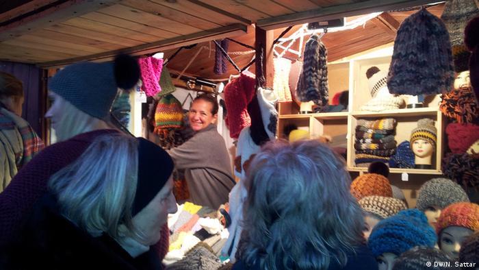 Laura van Welck, Organisatorin Weihnachtsmarkt
