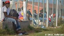 Lampedusa Flüchtlinge Lager Mineo