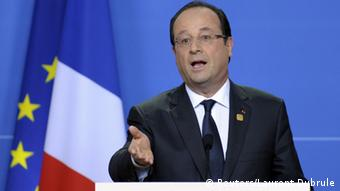 Portrait of Francois Hollande (photo: REUTERS/Laurent Dubrule)