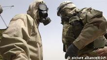 OPCW Chemiewaffen amerikanische Soldaten Spezialanzuege