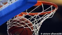 Symbolbild Netz Sport Basketball