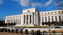 "Das ""Eccles Building"", Hauptsitz der Federal Reserve in Washington, D.C. Copyright: Antje Passenheim, DW, Washington, Dec. 2013"