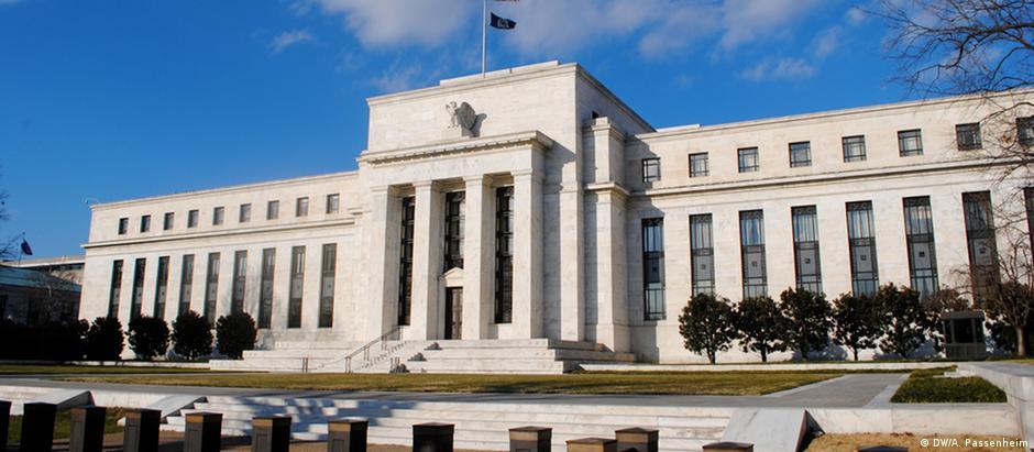 Sede do banco central americano, ou Fed, em Washington