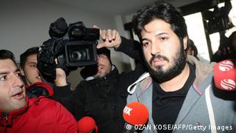 رضا ضراب، تاجر ایرانی که به اتهام تشکیل شبکهای برای رشوه دادن به سیاستمداران ترکیه بازداشت شد