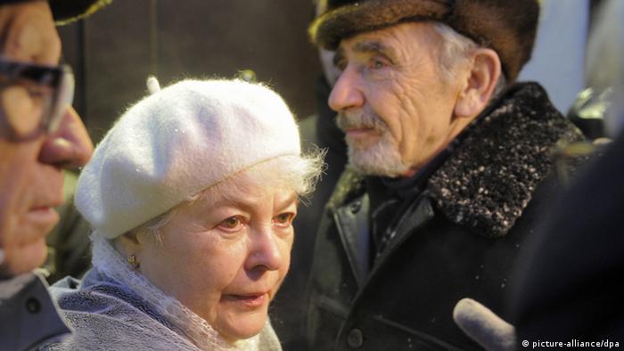 Die Eltern von Michail Chodorkowski, aufgenommen 2010 (Foto: RIA Novosti)