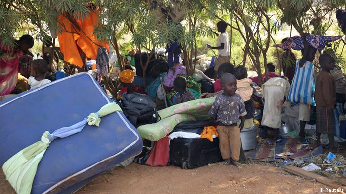 South Sudanese refugees, 19.12.2013