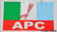 Nigeria Oppositionspartei APC *** von Katrin Gänsler am 15.12.2013 in Nigeria fotografiert.