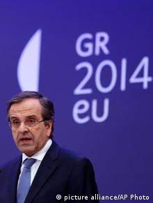 Antonis Samaras (C) picture-alliance/AP