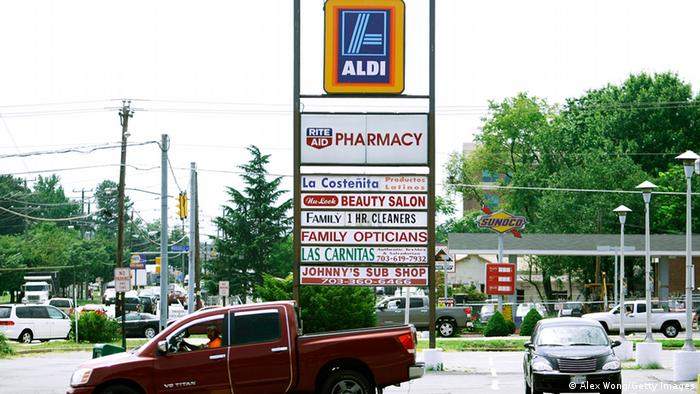 Aldi in den USA (Alex Wong/Getty Images)