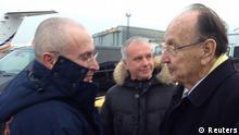 Michail Chodorkowski Deutschland Empfang Hans-Dietrich Genscher 20.12.2013