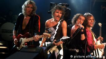 Scorpions in 1985, Copyright: picture alliance/dpa