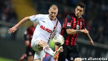 Fußball Bundesliga Eintracht Frankfurt gegen FC Augsburg