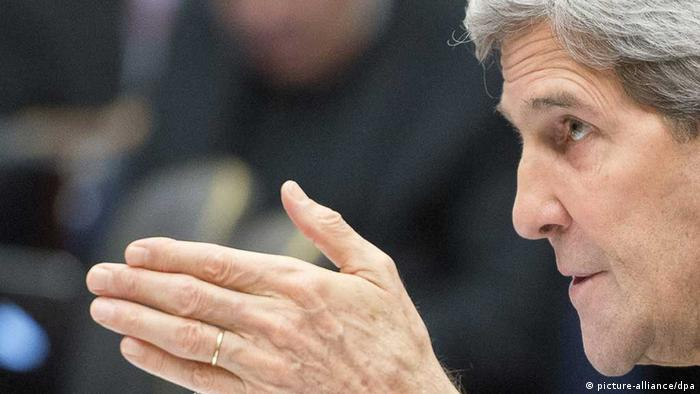 US-Außenminister John Kerry (foto: dpa)