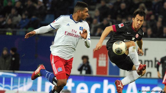 Fußball Bundesliga 17. Spieltag Hamburger SV gegen FSV Mainz 05
