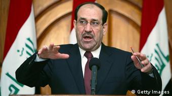 نوری مالکی به کمک ایران برای حل بحران امنیتی عراق امیدوار است