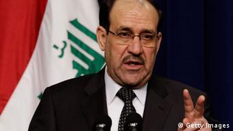 Irak Anschläge Nuri al-Maliki 12. Dez. 2011