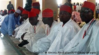 Massen-Trauung in Nigeria