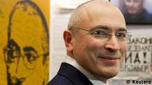 Chodorkowski gibt Pressekonferenz in Berlin 22.12.2013