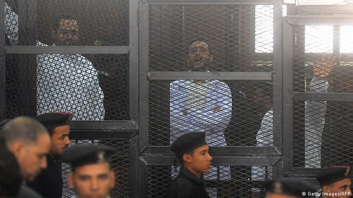 Ägypten drei Jahre Haft für Oppositionelle