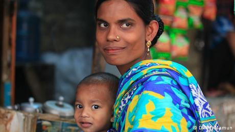 Bangladesh Pakistan Dhaka Kleidungsherstellung Mitarbeiter