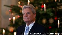 Joachim Gauck Weihnachtsansprache Berlin 2013 BITTE TEXT BEACHTEN!