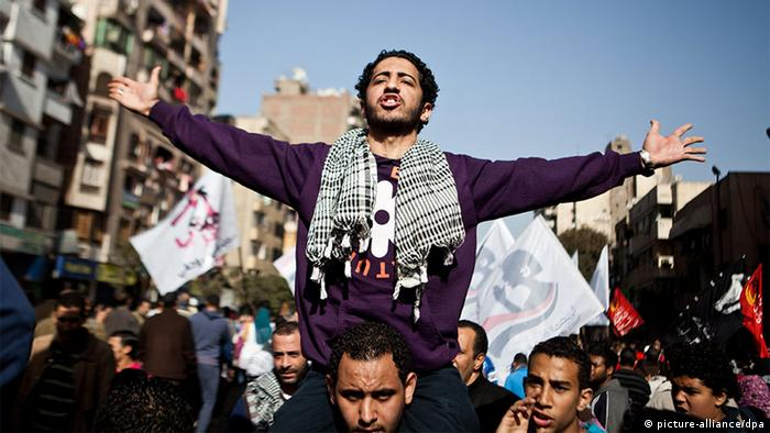 Symbolbild Arabischer Frühling (picture-alliance/dpa)