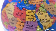 Globus Karte Nahost