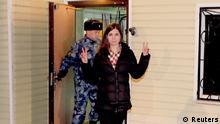 Pussy Riot Nadeschda Tolokonnikowa Entlassung aus Haft