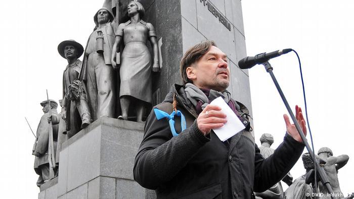 Андрухович на харківському Майдані