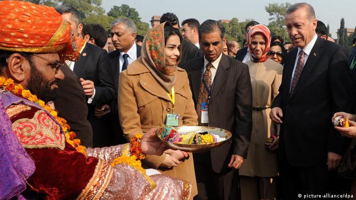 Tayyib Erdogan Premierminister Türkei Besuch in Pakistan