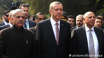 Pakistan - Türkischer Premierminister Erdogan wird empfangen.