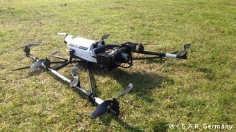 The AscTex Falcon 8 drone (Photo: I.S.A.R. Germany)