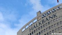 Halkbank Zentrale in Ankara Türkei