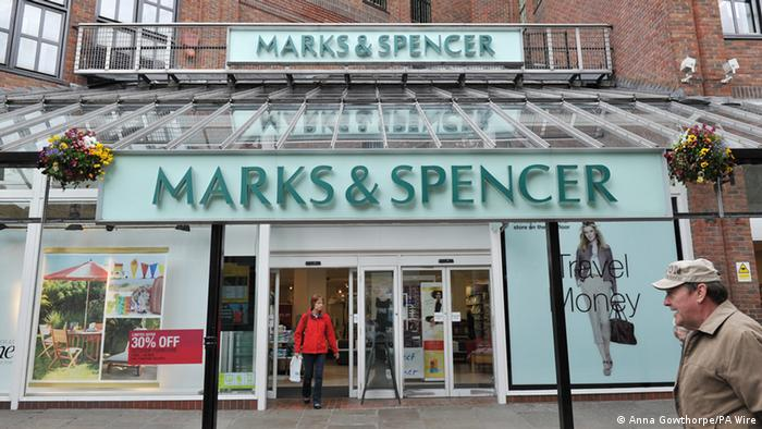 Marks & Spencer Shop (Anna Gowthorpe/PA Wire)