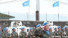 Blauhelm-Soldaten UNO-Mission im Kongo (MONUSCO) *** Fotos von Dirke Köpp, DW 18.12.2013