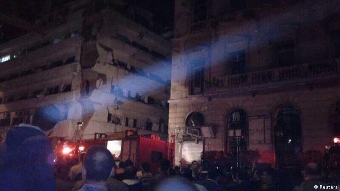 Ägypten, Dakahlija, Mansura, Anschlag, Autobombe