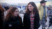 24.12.2013 Pussy Riot Freilassung Tolokonnikova Aljochina Krasnojarsk