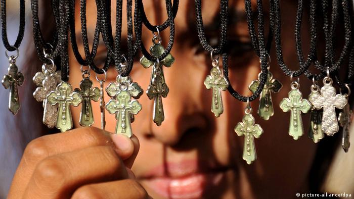 Pakistan Kruzifixe Verkauf