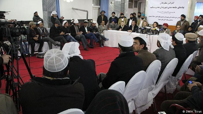 نمایندگان هندوها وسیک های افغانستان از همه هموطنان مسلمان تقاضا کردند از خواست شان دفاع کنند