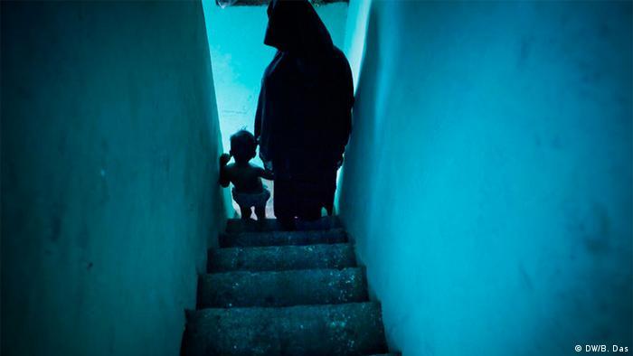 Bidergalerie Indien Kindesentführung