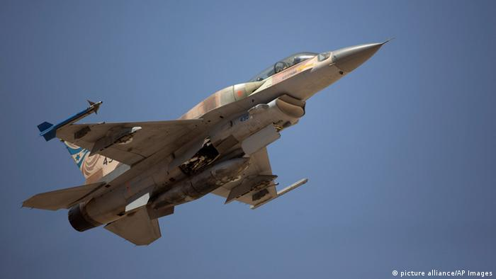 Israel Kampfflugzeug Luftwaffe F16I Kämpfer (picture alliance/AP Images)