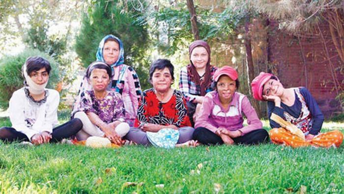 دانشآموزان آسیبدیده مدرسه شینآباد