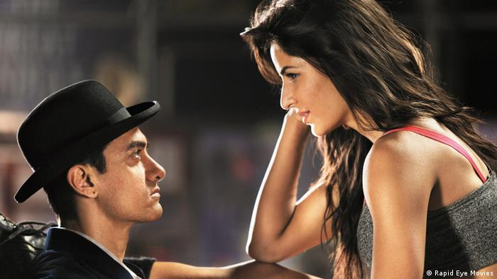 Aamir Khan, Katrina Kaif in Dhoom 3 (Rapid Eye Movies)