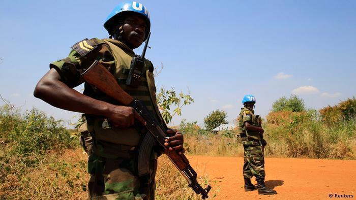UN soldier in South Sudan