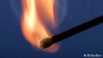 Streichholz und Flamme p178