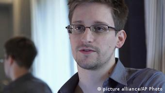 Edward Snowden Photo: AP Photo/The Guardian, Glenn Greenwald and Laura Poitras,
