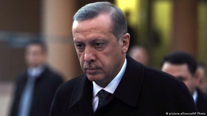 Premierminister Türkei Tayyip Erdogan Porträt