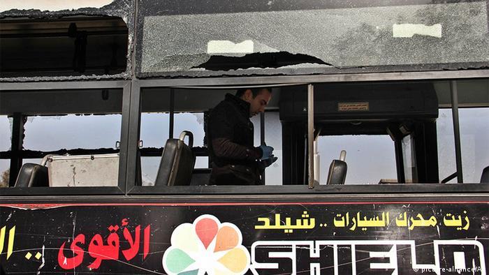 Anschlag auf Reisebus in Kairo, Ägypten