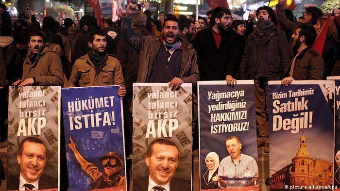 Protestele continuă în Turcia